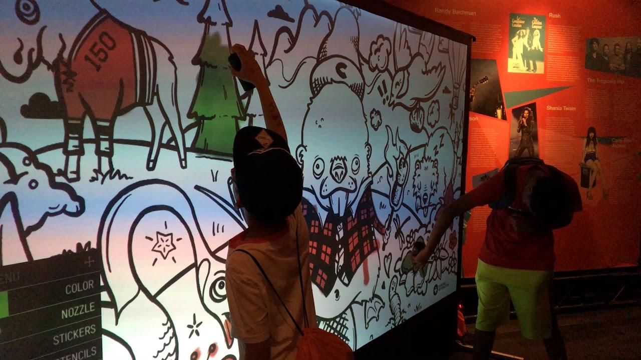 Digital Graffiti Wall Hire in Essex and Hertfordshire